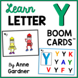 Learn The Letter Y: Alphabet Boom Cards™ {Beginning Sound, Vocabulary and More}