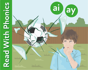 Learn The Phonic Sounds ai and ay (play and explain) Learn To Read With Phonics