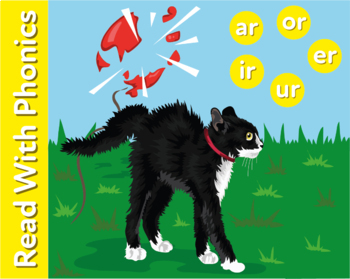 Learn The Phonic Sounds ar, or, ir, ur and er (Learn To Read With Phonics)