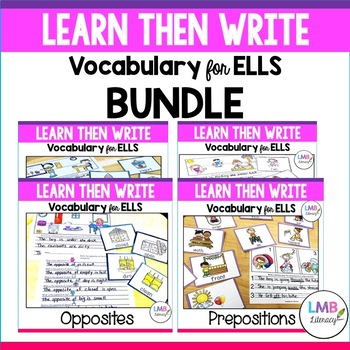 Learn Then Write-Bundle-Vocabulary for ELLs