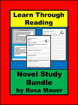 Learn Through Reading Bundle of Book Units Literacy Activities