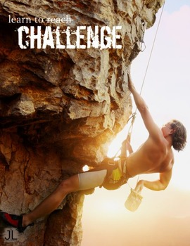 """""""Learn To Challenge"""" Poster (Free Sample)"""