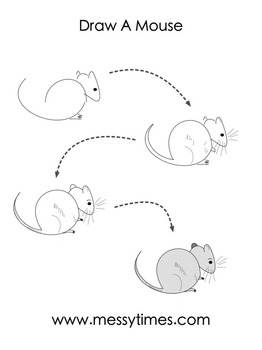 Learn To Draw A Mouse