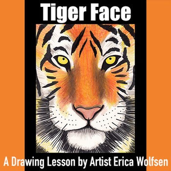 Learn To Draw A Tiger Face
