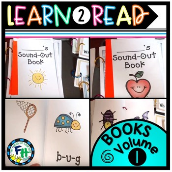 Learn-To-Read Books Vol. 1