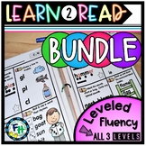 Learn To Read Leveled Fluency {BUNDLE of all 3 levels}