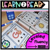 Learn To Read: Leveled Fluency Pack (LEVEL A)