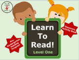 Learn To Read! Program Level One