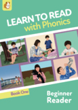 Learn To Read Rapidly With Phonics: Beginner Reader Book 1