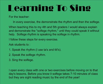 Learn To Sing With Solfege