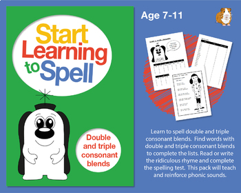 Learn To Spell Double And Triple Consonant Blends: Learn To Spell With Phonics