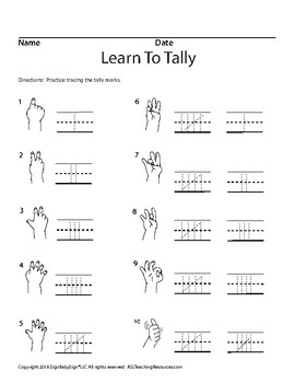 Learn To Tally