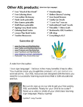 Learn To Tally, ASL Sign Language