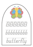 Learn To Write The Alphabet! Write And Wipe Alphabet Cards, D'Nealian Font