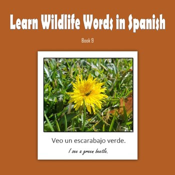 Learn Wildlife Words in Spanish, Book 9