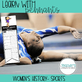 Learn With Pennants- Women's History-Sports