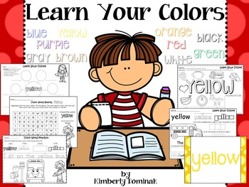 Learn Your Colors!