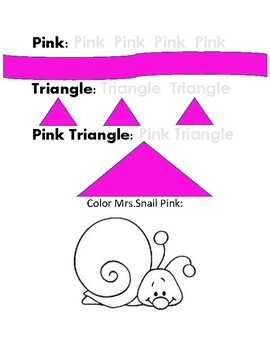 Learn Your Colors and Shapes