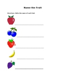 Identifying Words and Patterns: Fruit Edition