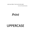 Learn Your Letters in Print and Cursive