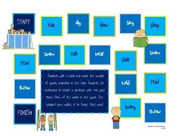 Learn Your Verbs! Regular and Irregular Past Tense Activities