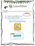 Learn Zillion Quick Codes 4th Grade Math