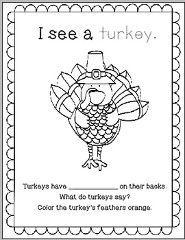 Learn-a-Lot Thanksgiving Workbook