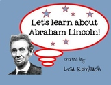 Learn about Abraham Lincoln SmartBoard lesson primary grades