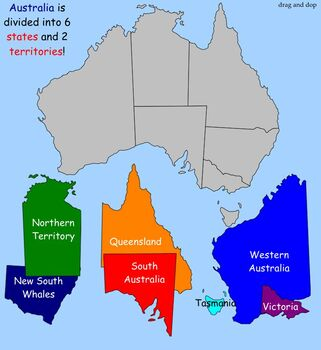 Learn about Cultures, Australia,  SmartBoard Lesson for Primary Grades