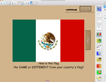 Learn about Cultures, Mexico SmartBoard Lesson for Primary Grades