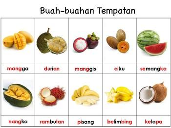 Learn about Fruits / Mengenali Buah-buahan by Jamaliah ...
