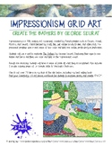Learn about Impressionism and create artwork using pointal