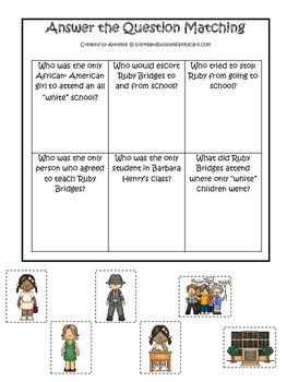 Learn about Ruby Bridges.  An American history educational curriculum game.