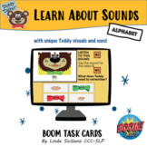 Learn about Sounds with Teddy Talker:  BOOM Cards