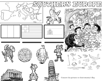Learn about South European Countries