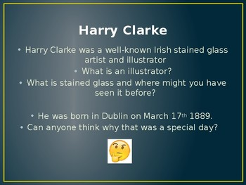 Stained Glass art and the artist Harry Clarke