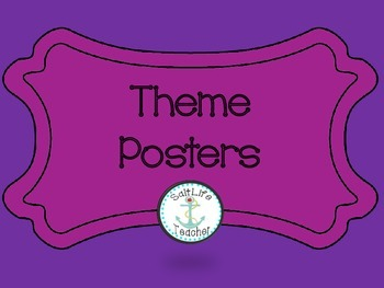 Learn about Theme with these 9 Theme Posters