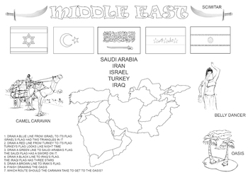 Learn about the Middle East