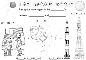 Learn about the Space Race