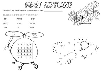 Learn about the the flight of an airplane