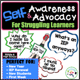 IEP and Me~ Self Awareness and Self Advocacy