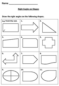 Learn and Draw Right Angles