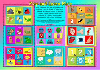 Play and Learn Mats