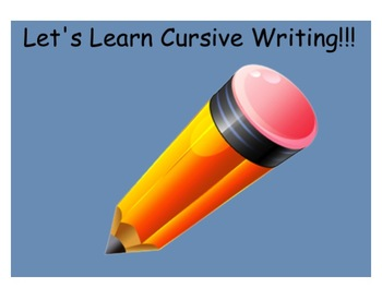 Learn and Practice Cursive Writing