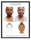 Learn and Review the Facial Anatomy through Makeup Contouring