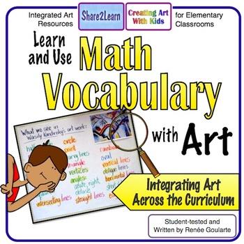 Math Vocabulary with Art