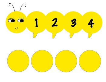 Learn colors and numbers caterpillar game