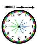 Learn how to tell time Printable clocks and worksheets
