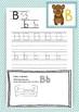 Learn how to write. Cute handwriting material