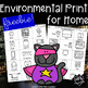 Learn it Kitty's Reading Tic Tac Toe & Environmental Print for Home Freebie